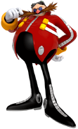 Eggman Lost World art