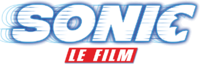 SonicMovie FR logo white