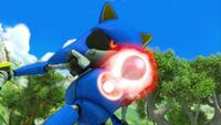 S1E44 Metal Sonic blast