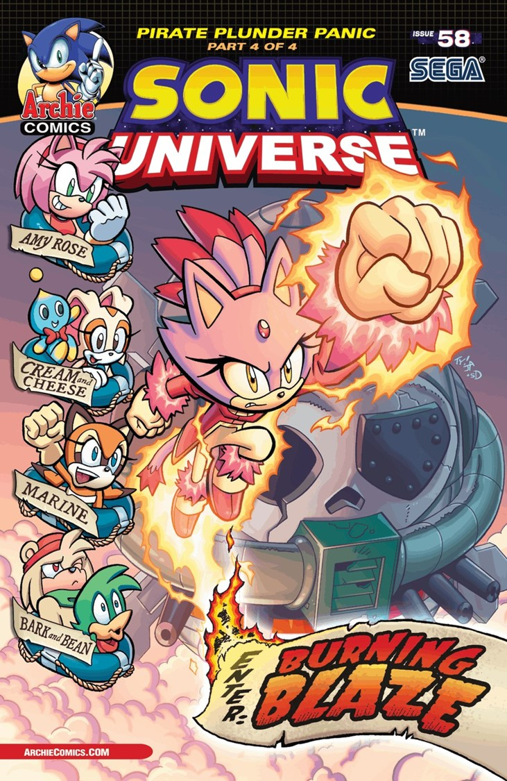 Sonic Universe Issue 58