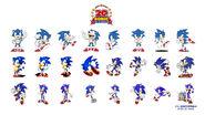 Sonic 20th tapeta 3
