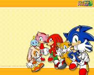 Sonic Advance 3 tapeta
