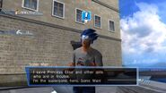 Sonic Man - Silver