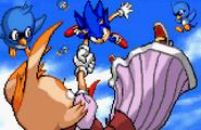 SA2 Vanilla and Sonic