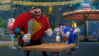 SB S1E38 Sonic vs Eggman dominos