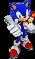 SatSR Sonic Wiimote shadow