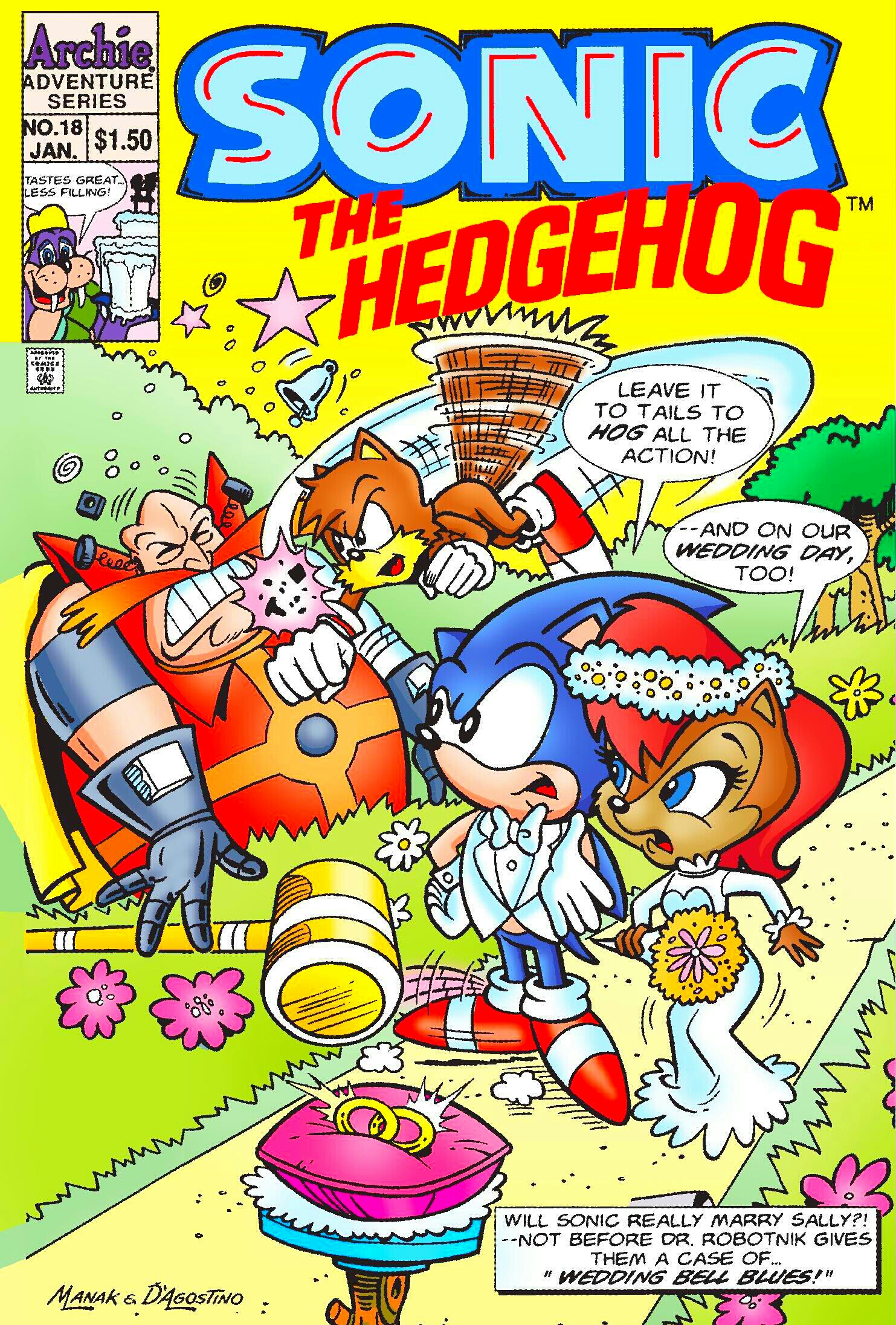 Archie Sonic the Hedgehog Issue 18