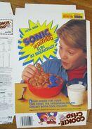 Cookie Crisp cereal box 1992 2