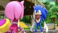 SB S1E19 Amy confront Sonic
