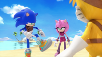 SB S1E19 Sonic Amy Tails new shoes