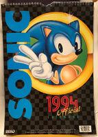 Sonic 1994 Official Calendar EU