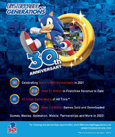 Sonic 30th magazine ad