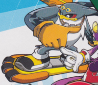 Sonic Riders art 2D promo Storm