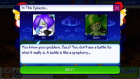 Sonic Runners Zazz Raid Event Zeena Zor Cutscene (2)