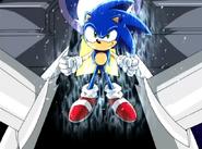 Sonic rozgrzany Sonic X