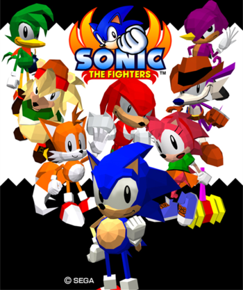 Sonic the Fighters (2012)