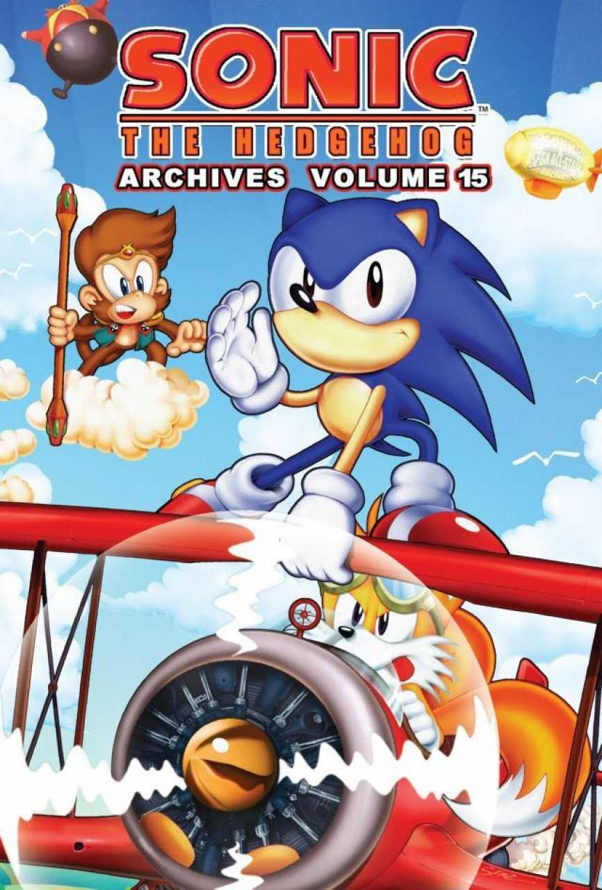 Archie Sonic Archives Volume 15