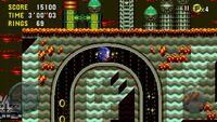Sonic CD Mobile Sonic Collision Chaos Zone 3 Bad future 15