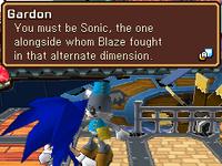 Sonic meets Gadon v3