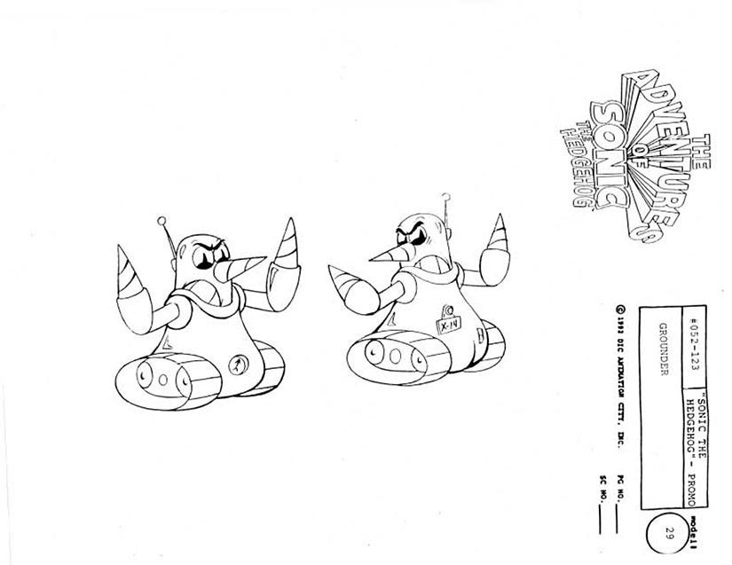 Grounder (Adventures of Sonic the Hedgehog)/Galeria