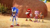 SB S1E12 Team Sonic canyon startled