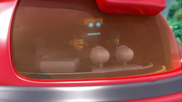 SB S1E32 Cubot octopus bot windshield