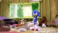 SB S1E50 Sticks Sonic mess