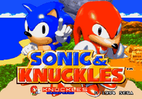 Sonic & Knuckles title screen 2