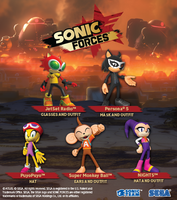 Sonic Forces SegaAtlus Pack 1504071888