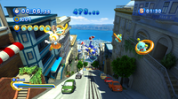 Sonic Generations Cream Modern Challenge 01