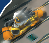 Sonic Riders 3D Storm