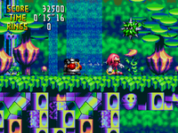 Why did eggman make a robot out of leaves 02