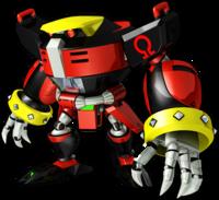 Sonic Runners E-123 Omega