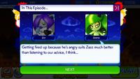 Sonic Runners Zazz Raid Event Zeena Zor Cutscene (10)
