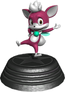 Generations statue Chip