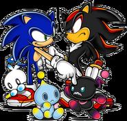 Sonic i Shadow Chao SA2B