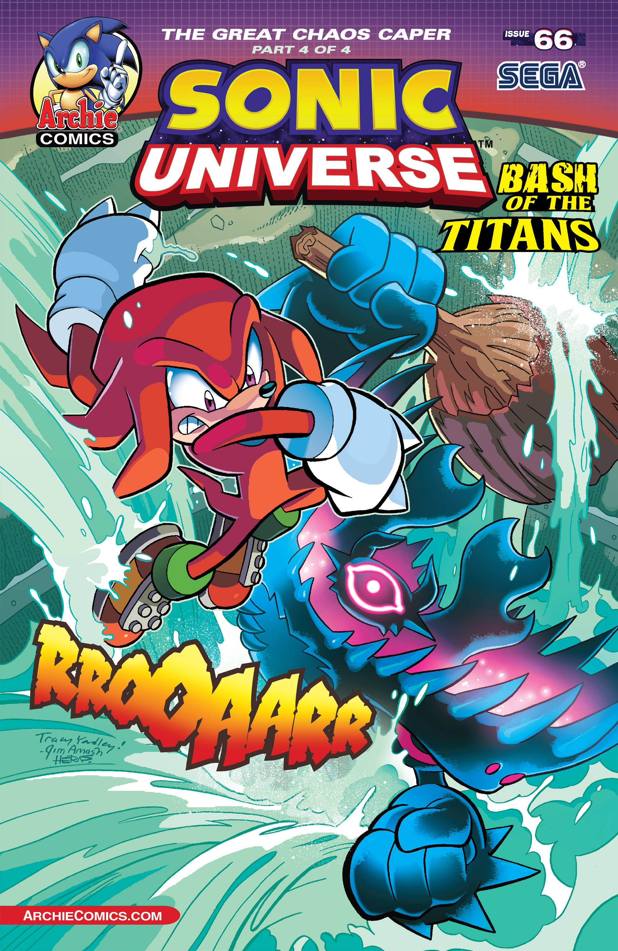 Sonic Universe Issue 66