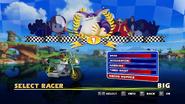 Sonic and Sega All Stars Racing character select 16