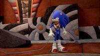 SB S1E22 Sonic hedgehog harness