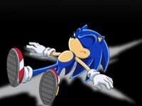 Sonic passed out