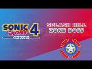 Splash Hill Zone Boss - Sonic the Hedgehog 4- Episode I
