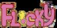 Flicky Arcade Logo JP English