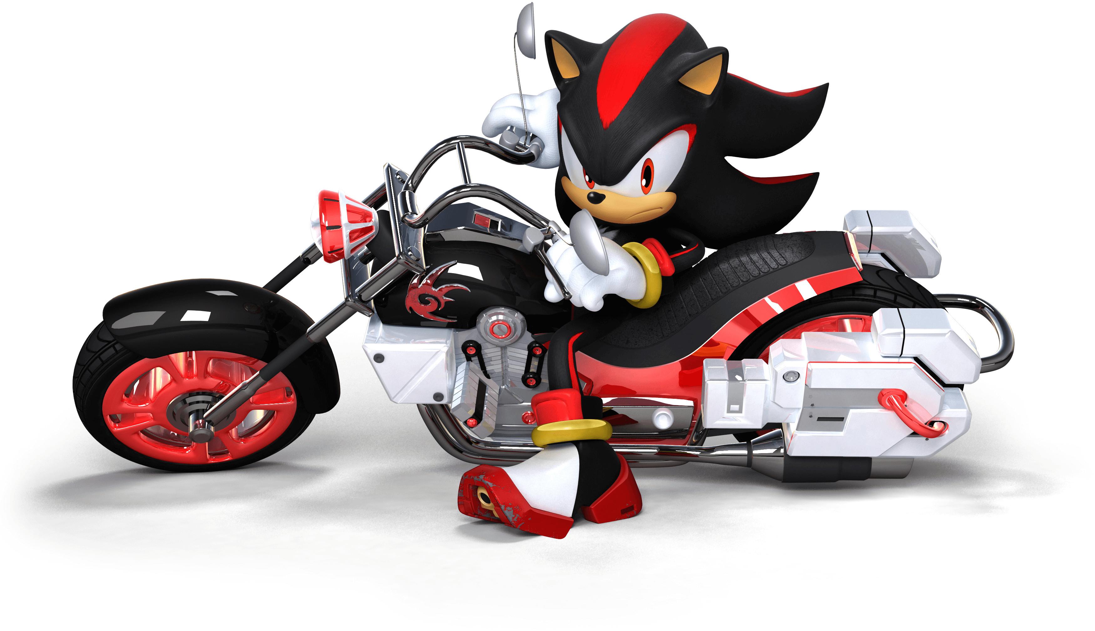 S&SASR Shadow the Hedgehog on Dark Rider.png