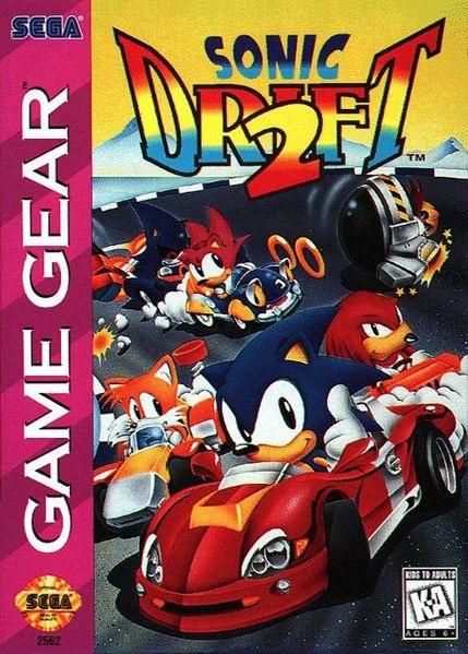 sonic drift 2 game gear