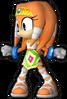 Sonic Runners Tikal Model