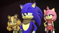 AU Sticks Amy and Sonic