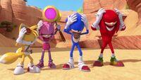 SB S1E21 Team Sonic cover ears