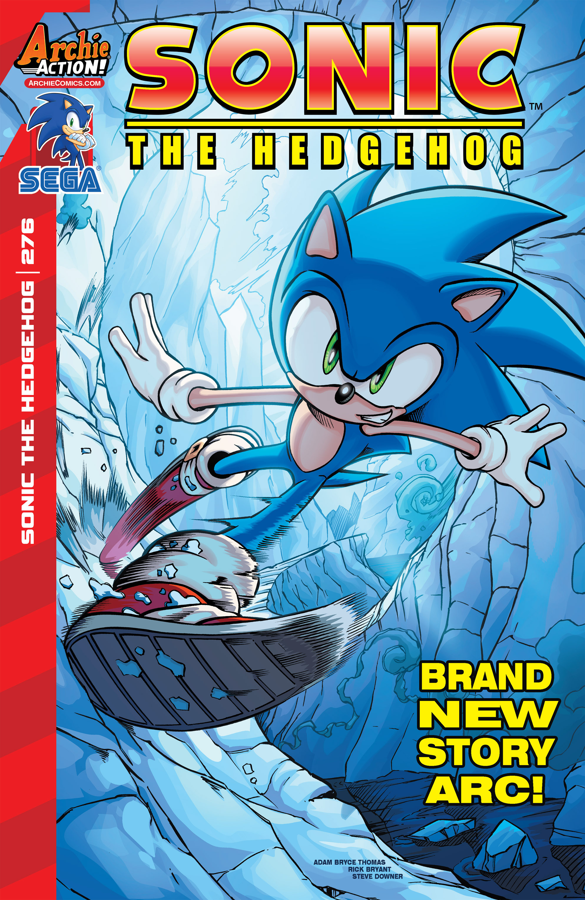 Archie Sonic the Hedgehog Issue 276