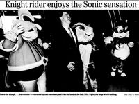 Robotnik Sally and Tails Costumes