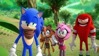 SB S1E22 Team Sonic praise